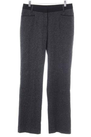 Comma Pantalon Marlene gris anthracite moucheté style décontracté