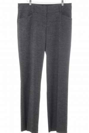 Comma Marlene Trousers grey mixture fibre