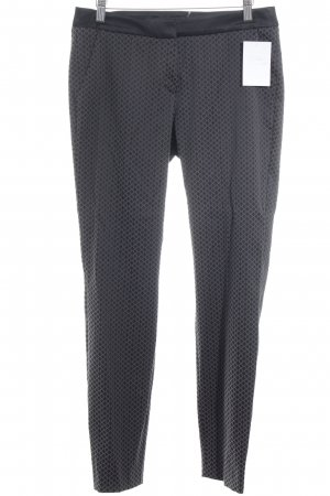 Comma Marlene Trousers black-grey brown check pattern business style
