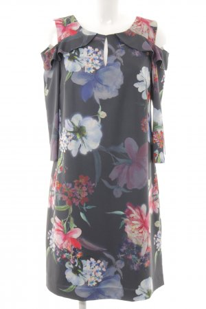 Comma Midi Dress flower pattern casual look