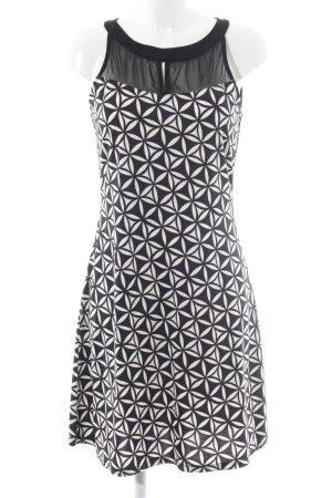 Comma Midi Dress graphic pattern college style