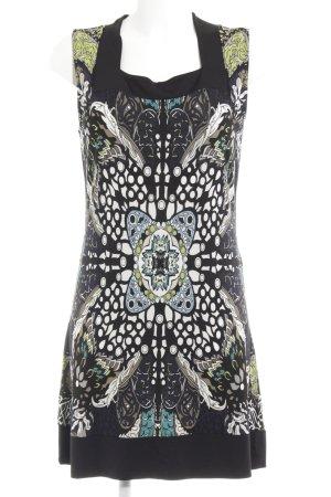 Comma Mini-jurk abstract patroon extravagante stijl