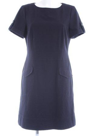 Comma Minikleid dunkelblau klassischer Stil