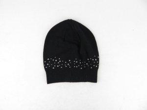 Comma Gorra negro tejido mezclado