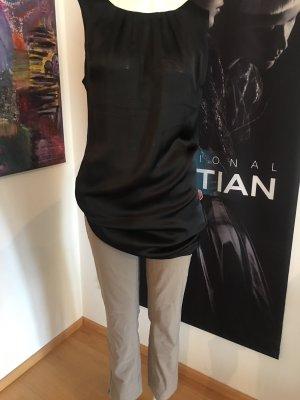 Comma Jersey Dress black-light grey