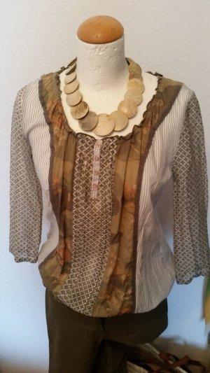 Comma Tunique-blouse ocre-kaki