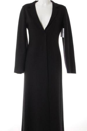 Comma Oversized Mantel schwarz minimalistischer Stil