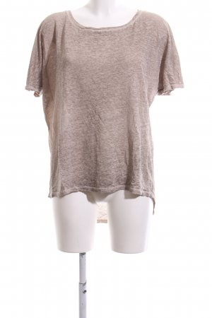 Comma Oversized Shirt brown flecked casual look