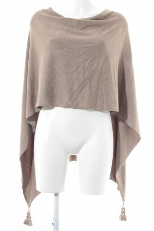 Comma Poncho beige Casual-Look