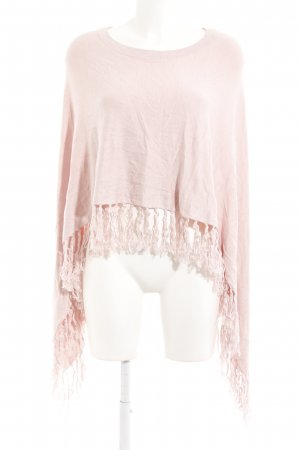 Comma Poncho pink casual look