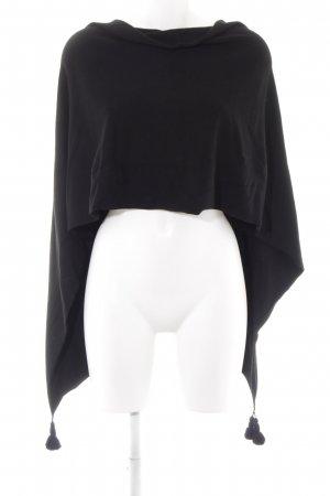 Comma Poncho black casual look
