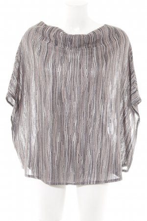 Comma Poncho striped pattern hippie style
