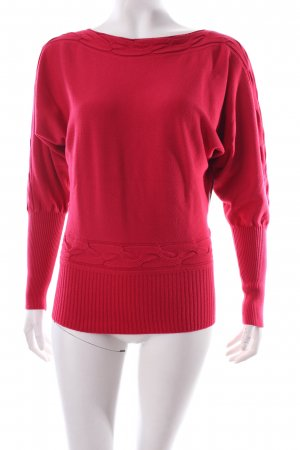 Comma Pullover rot Casual-Look