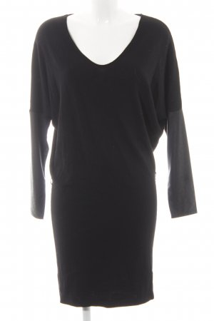 Comma Sweater Dress black simple style