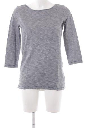 Comma Gestreept shirt donkerblauw-wit horizontale strepen marine uitstraling
