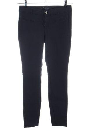 Comma Pantalon cigarette noir style d'affaires