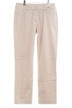 Comma Röhrenhose creme Casual-Look