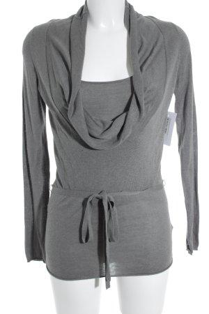 Comma Rollkragenpullover grau schlichter Stil