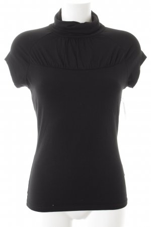 Comma Turtleneck Shirt black simple style