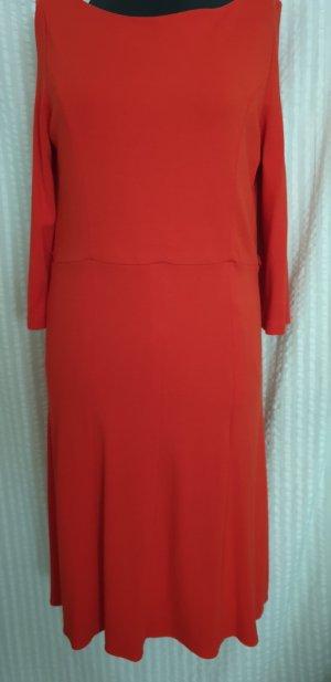 Comma Robe en jersey rouge