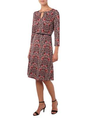 comma: Schickes rotes Kleid, Gr. 38