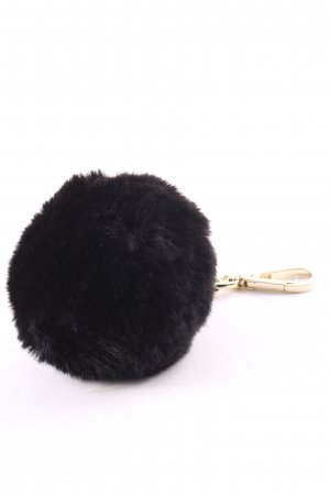 Comma Key Chain black simple style