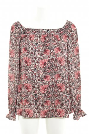 Comma Slip-over blouse bloemenprint romantische stijl