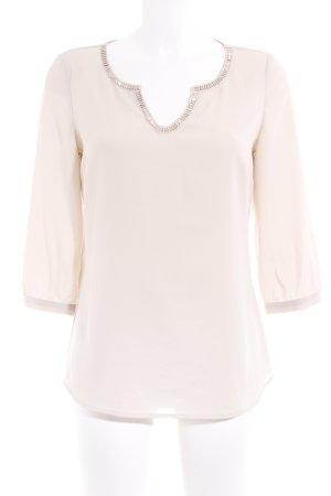 Comma Schlupf-Bluse creme Elegant