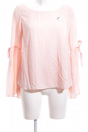Comma Schlupf-Bluse pink Casual-Look