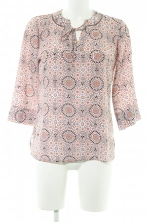 Comma Schlupf-Bluse florales Muster Boho-Look
