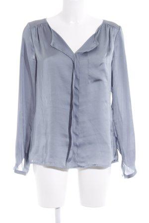 Comma Schlupf-Bluse graublau Elegant