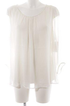 Comma Schlupf-Bluse weiß Elegant