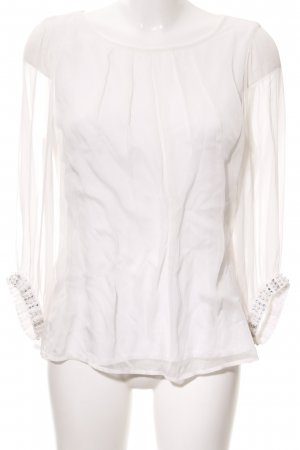 Comma Slip-over blouse wolwit casual uitstraling