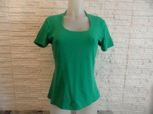 Comma Shirt Gr. 40 grün Edel & Modern