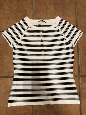 Comma Shirt im Allover Style mit Reißverschlussdetails