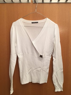 Comma Shirt in weiß / 38