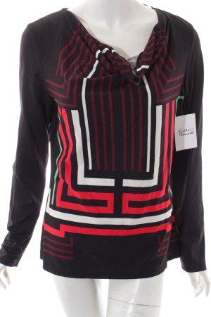 Comma Shirt mehrfarbig Casual-Look