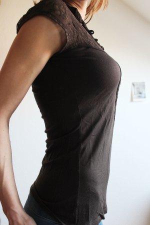 COMMA Shirt mit Spitze