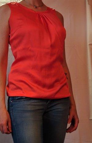 Comma Blusa arancione chiaro