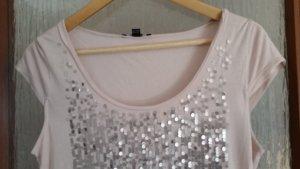 Comma Shirt, T-Shirt, Pailletten - Shirt