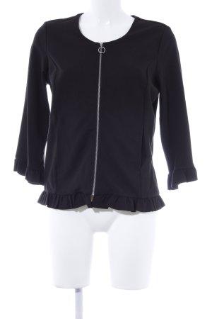Comma Veste chemise noir style romantique