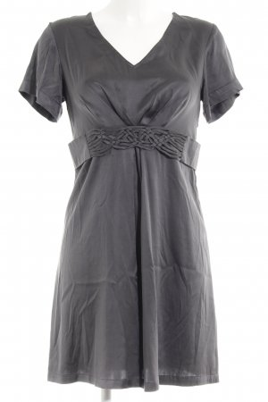 Comma Shirt Dress anthracite mixed pattern casual look