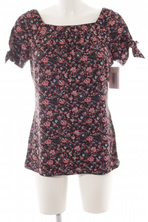 Comma Shirttunika Blumenmuster Paris-Look
