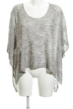 Comma Camicia a tunica grigio stile semplice