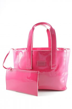 Comma Shopper magenta Casual-Look