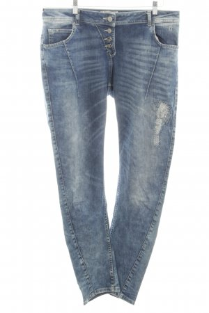 Comma Skinny Jeans blau Casual-Look