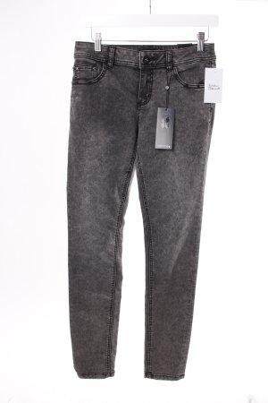 Comma Skinny Jeans schwarz Acidoptik
