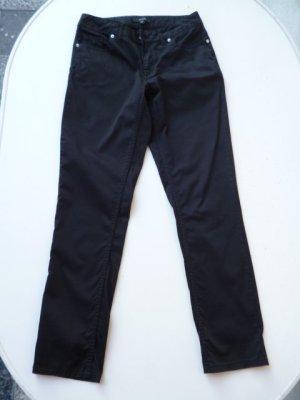 Comma Pantalon cinq poches noir coton