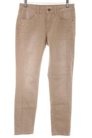 Comma Slim Jeans beige Casual-Look