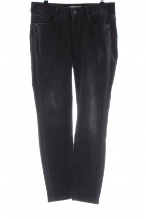 Comma Slim Jeans black casual look